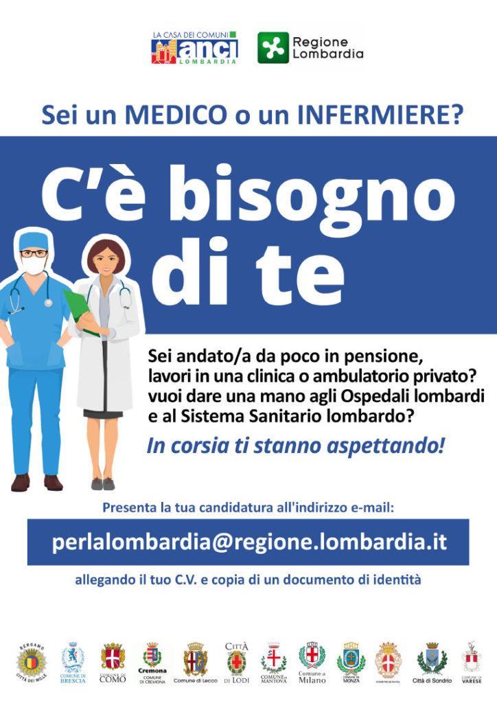 Sei un medico o un infermiere? C'è bisogno di te.
