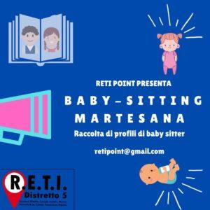 BABY SITTING MARTESANA