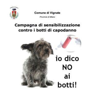 """Campagna di sensibilizzazione contro i botti di capodanno: """"Io dico NO ai botti!"""""""