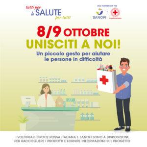 Progetto Healt Bank in collaborazione con la Croce Rossa Italiana e Sanofi